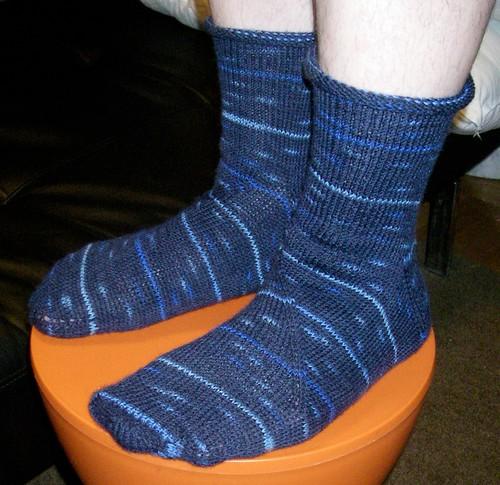Coriolis Blue Socks