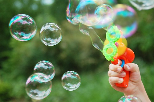 Bubble, bubble, toil and trouble.
