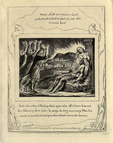 003- El libro de Job-William Blake 1825