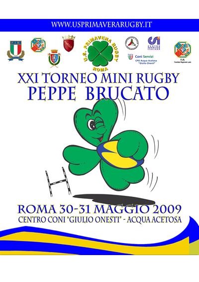 locandina Torneo Peppe Brucato