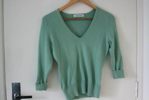 Suéter reciclado