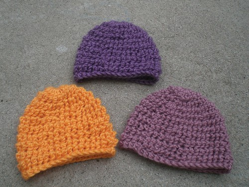 More Baby Hats