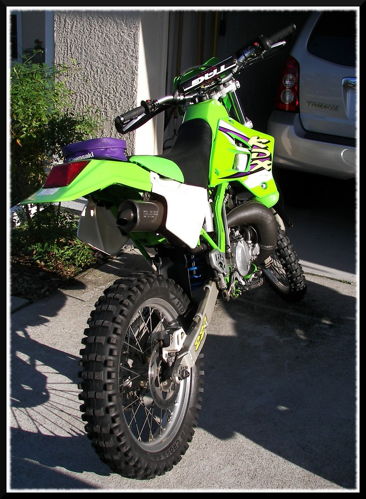 KDX220 Dirt Bike