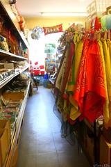 Orange Bandana (Harpo42) Tags: friends orange boston arlington store spring junk aisle stuff bandana mass 510 cheap shelves 2009 fiveanddime