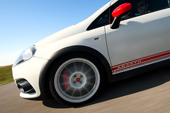 (Akis Kev) Tags: auto red white car grande punto fiat ss hellas greece turbo macedonia vehicle kit circuit esse abarth makedonia esseesse wwwtestdrive24gr testdrive24