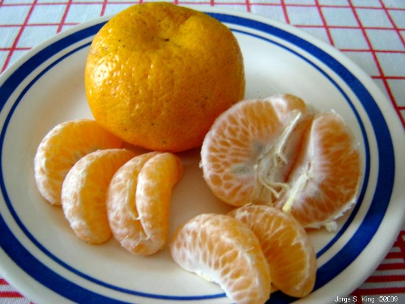 Mandarinas Santiagueñas