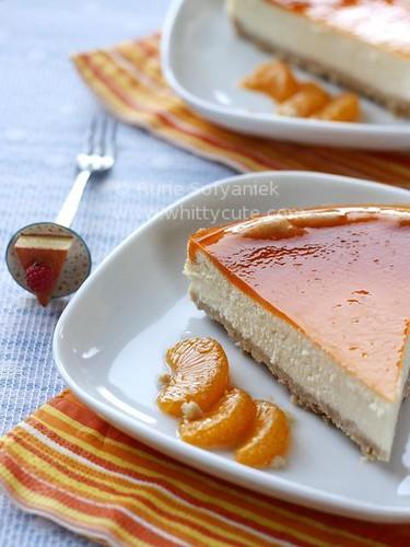 Orange Lemon New York Cheesecake