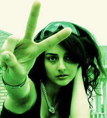 Peace and Freedom to IRAN (Negar Daneshfar) Tags: from 2 portrait people selfportrait canada black cute green girl beautiful 30 self persian necklace peace silent sad with iran dar innocent protest picture 15 tint teen bracelet supporter teenager iranian fav protesting  negar teenage 1000views azadi irani enghelab azad moosavi edalat silentscream dokhtar enghelabe dokhtare mousavi siasi kharej bestportraitsaoi daneshfar flickrunitedaward artisawoman negardaneshfar greenformousavi greenformoosavi stopviolenceiniran stopkillingpeopleiniran mobareze mobarezesiasi nojavan kharejaz canadayi bynegardaneshfar