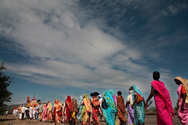 palkhi: the walk of faith...