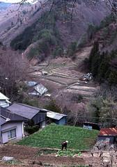 Village in the mountains (Samuel Seta) Tags: mountains 35mm landscape nikon valley nikonnewfm2 theturntable nikonflickraward