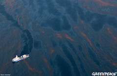 Winding Through BP Oil Spill (Greenpeace USA 2016) Tags: usa louisiana gulf unitedstates offshore platform pollution rig disaster oil oceans bp spill drilling contamination britishpetroleum offshoredrilling offshoreoilplatform