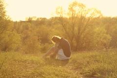 Springtime Serenity. (Day 256) (Allison Imagining) Tags: light trail barefeet overexposure whiteskirt thetrail sooc