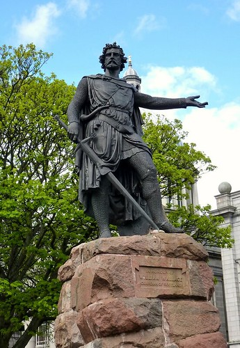william wallace statue. William Wallace statue, Union