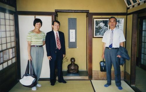 日本四國松山市道後溫泉紀念夏目漱石的少爺之間01_調整大小