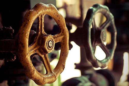 Handräder / Hand valves