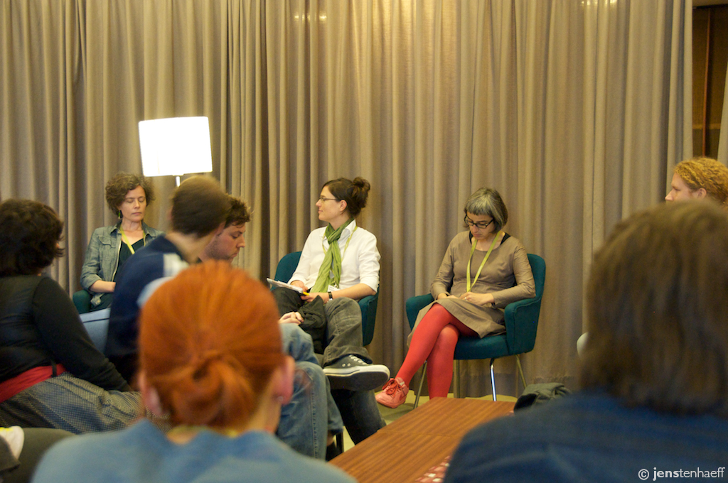 The KABK and UoR panel discussion at TYPO 2010