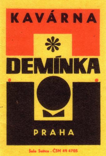 Kavarna Deminka Praha
