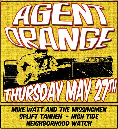 Agent Orange at the AC Supper Club