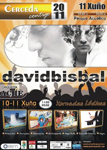 Cerceda 2011 - Gala Cerceda contigo - cartel