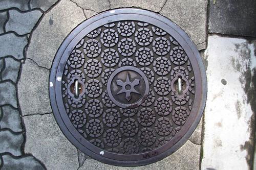 Kyoto (Higashi temple area), Manhole Cover