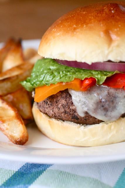 Black Bean Burgers | Annie's Eats