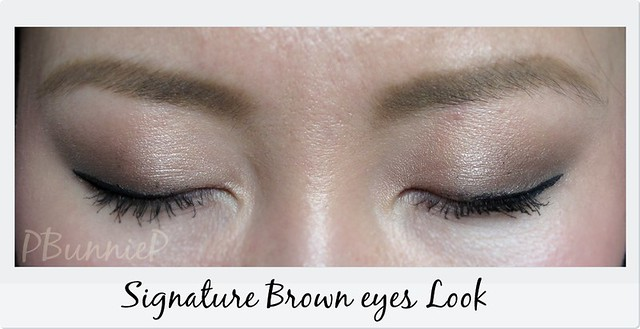 Signature Brown-Eyes look