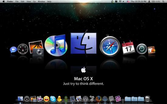 Mac OS X. Icon Collection