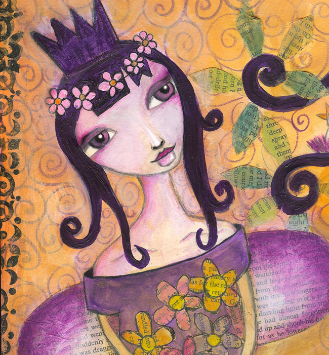 spring goddess crop