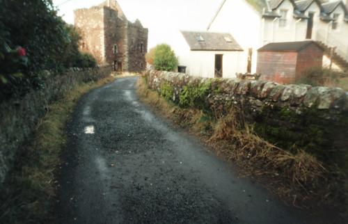 Castle lane through a pinhole 14Jan09