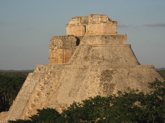 Uxmal majesty (Plant Design Online) Tags: city urban architecture landscape mexico pyramid yucatan planning mayan symbols puuc