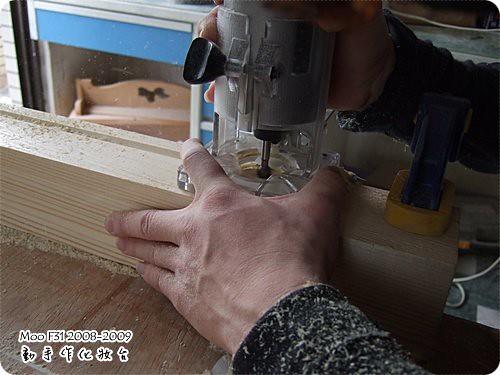手作木工化妝台-4
