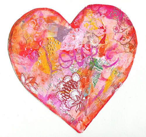 January Love Heart #3