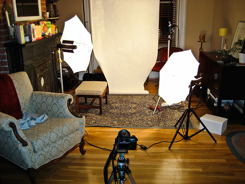 Behind the Scenes #6, Ghetto Photo Studio