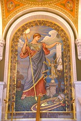 Mosaic of Minerva by Elihu Vedder (Deb Malewski) Tags: washingtondc mosaic libraryofcongress greathall elihuvedder mosaicofminerva