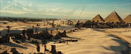 Transformers 2 trailer pirámides