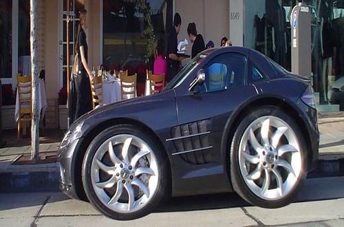 Mini Mercedes McLaren SLR