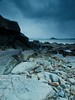 Last light-here comes the hail (JimParren) Tags: hail last cornwall comes stmichaelsmount lighthere