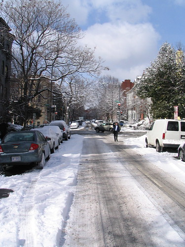 R Street after the Snow