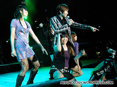 Sizzling up the stage