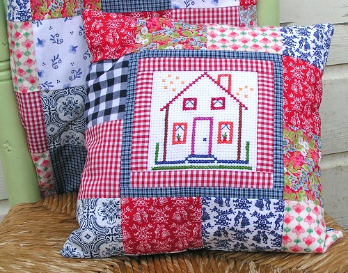 Dutch house pillow
