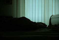 X (un chien andalou) Tags: light bed bedroom nikon curtains isolation tamron powmerantusenord