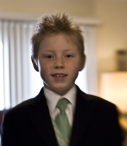 Zachary before wedding