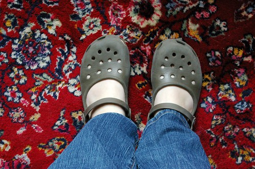 crocs no socks!