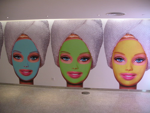 Spa Barbie (Andy Warhol, where are you?)