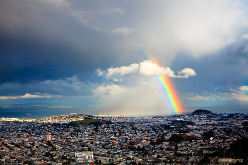 Rainbow (by Andrew Ng Images)