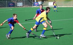 Chasing the ball! (Vaughanoblapski!) Tags: hockey stdavids wyn stbenedicts