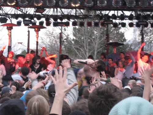 Girl Talk Crowd Surfing