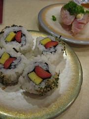 99/365 hotdog/tamago sushi