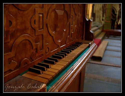 Organo de Salinas - Catedral Vieja de Salamanca - Teclado
