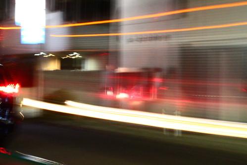 低速シャッター トラック